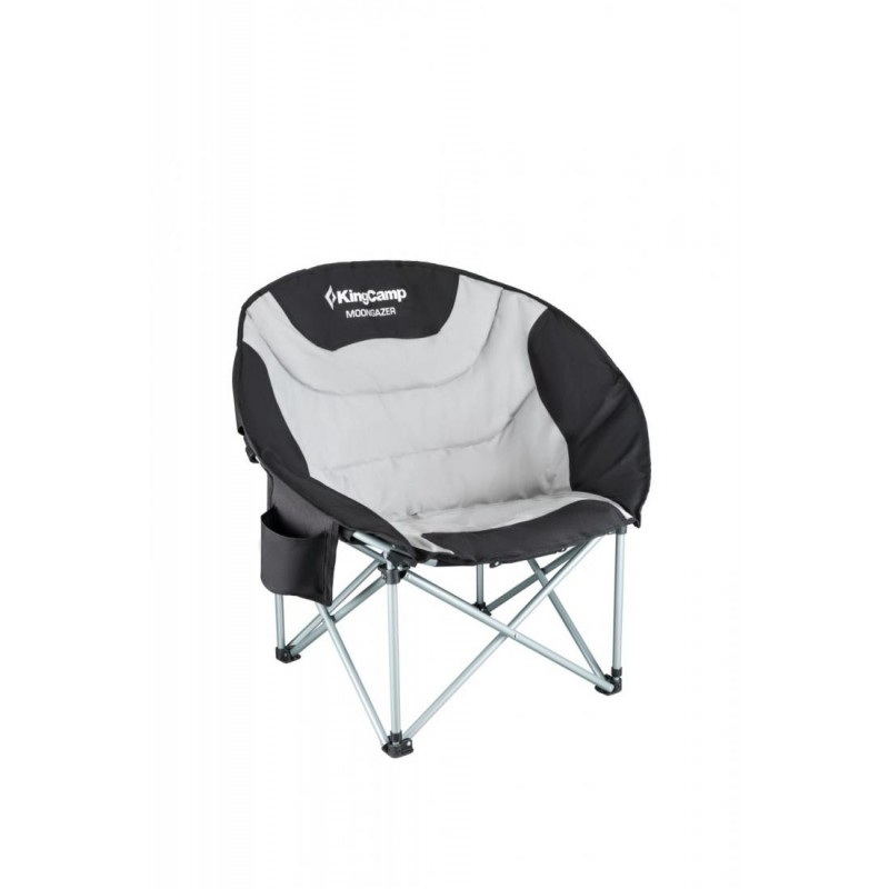 3989 Deluxe MOON Chair кресло скл. сталь (86х69х40/80см)