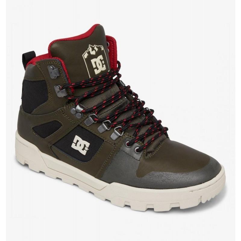 Высокие зимние ботинки DC Pure
