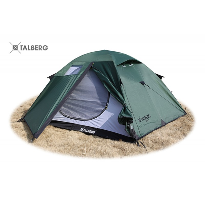 SLIPER 2 палатка Talberg (зелёный)